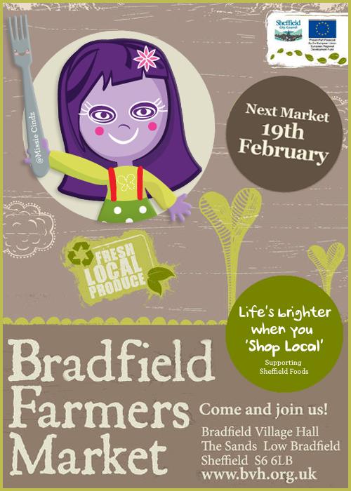 Bradfield Farmers Market - 19th Feb 2011