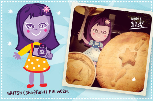 Missie Cindz British Pie Week - who ate all the pies?