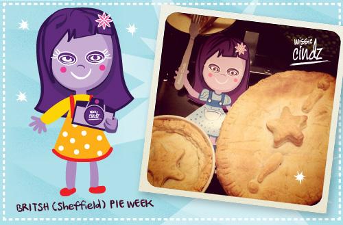 Missie Cindz British Pie Week - who ate all the pies?