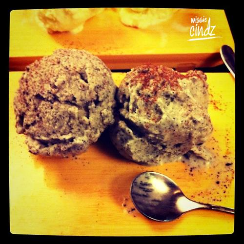 Sheffield's Yee kwan ice-cream served in Sushi Express