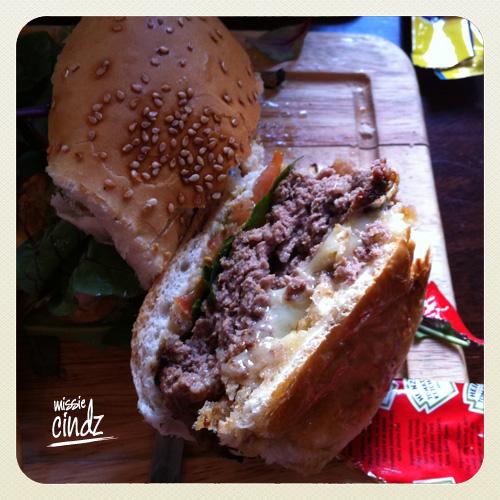 Sheffield's Rutland Arms 'mighty' burger!