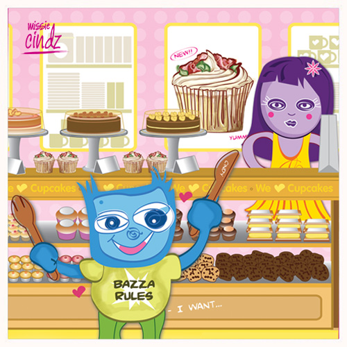 Missie Cindz Bakery of Treats - Personal Illustration