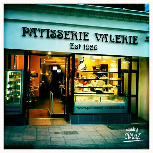 Patisserie Valerie, in Feasegate, York City
