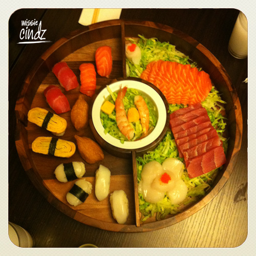 Sheffield's Sushi Express UK - Milton St. Party Platter meal