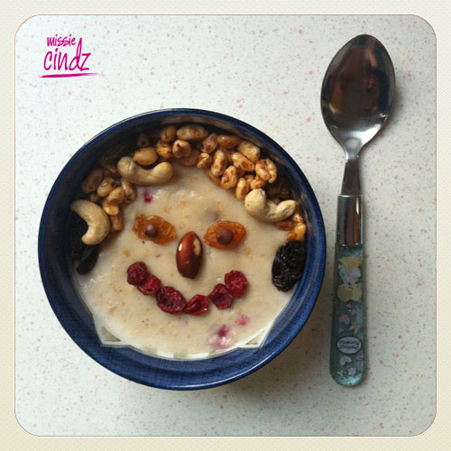 Who's ready to start their day with a yummy smiling? My Breakfast.