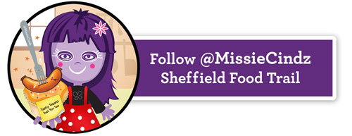Follow the Missie Cindz Sheffield Food Trail
