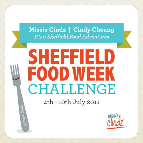 Missie Cindz Sheffield Food Week Challenge 2011