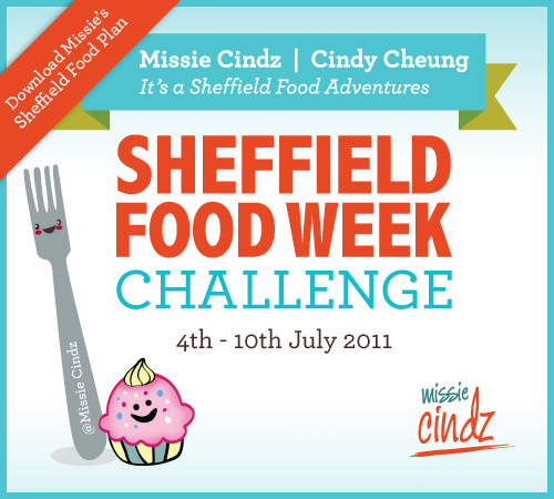 Missie Cindz Sheffield Food Week Plan