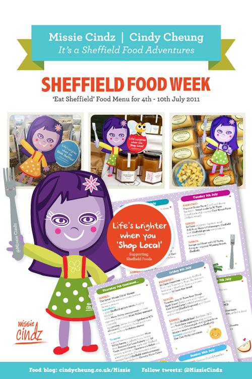 Let the Missie Cindz Sheffield Food Challenge commence!