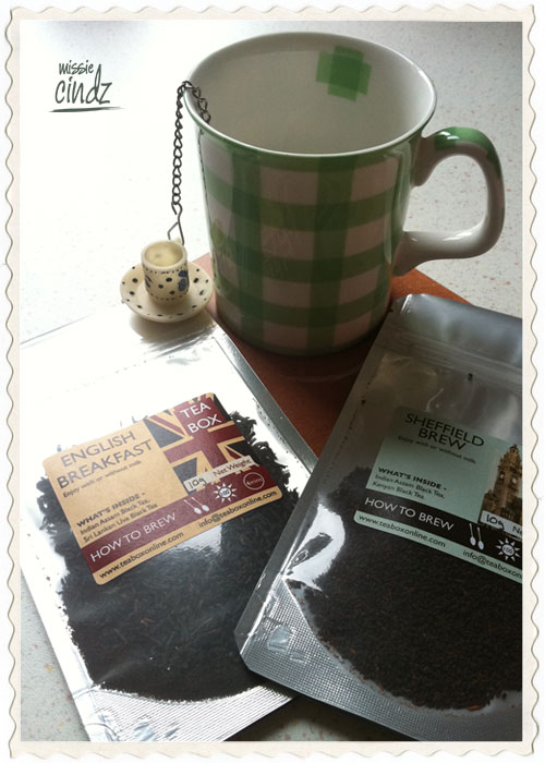 Breakfast washed down with a cuppa TeaBox's Sheffield brew tea