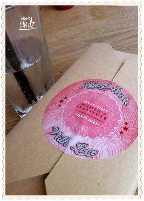 Seven Hills WI's Food Festival Cream Tea box