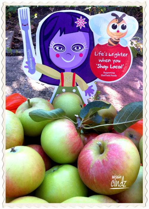 Forget Jack and his stalk, it's all about Missie Cindz and her Apple Tree.