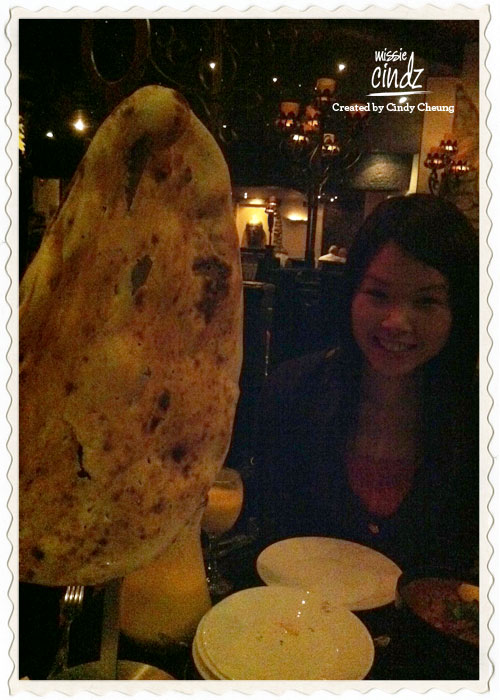 Sheffield's Akbars Chef's Challenge naan bread