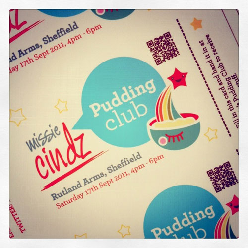 Missie's Pudding Club tickets are now available from the Rutland Arms.