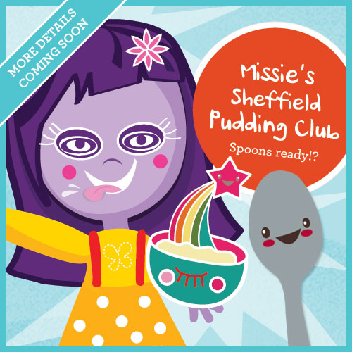 Missie Cindz first Sheffield Pudding Club coming next month. More details will follow soon...