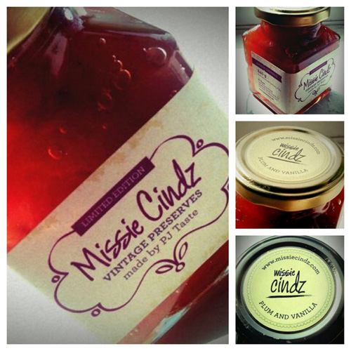 Missie's Vintage Preserves only available from PJ Taste from Monday 3rd October 2011