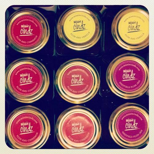 Missie Cindz Vintage Preserves, Sheffield plum jam