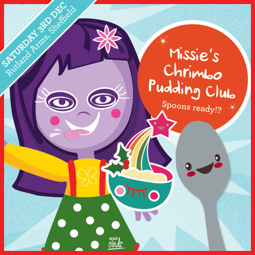 Missie Cindz Christmas Pudding Club – who's surfing the custard with me on those chocolate yule logs?
