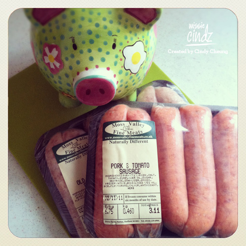 Looking forward to getting porky with my Sheffield Moss Valley sausages