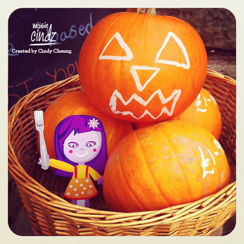 Every things looking pumpkin-licious today for Halloween. Tricks or treats?