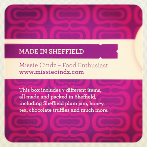 Limited availability artisan Missie Cindz Christmas gift hampers. Launching 24th November 2011