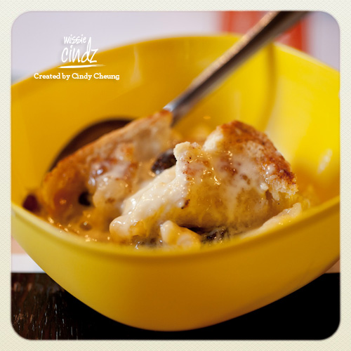 Missie Cindz Pudding Club – bread and butter pudding from our last event made by Kayleigh Degg