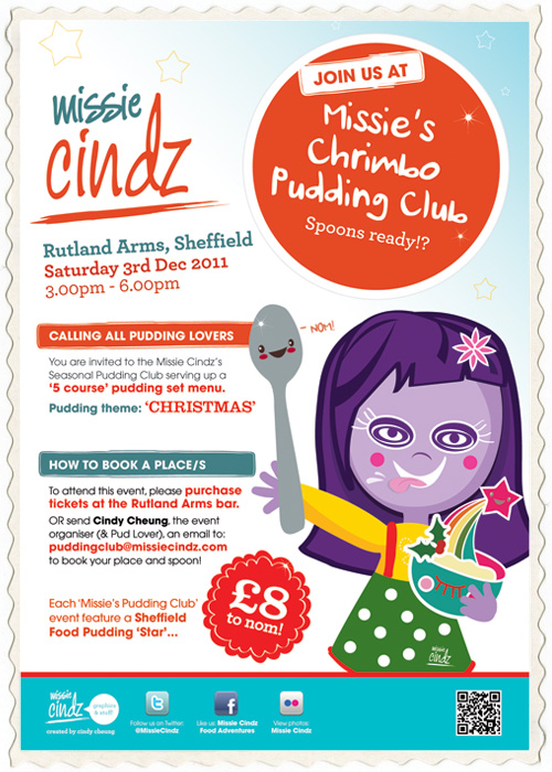 Get ready for Chrimbo Pudding Clubbing with the Missie Cindz