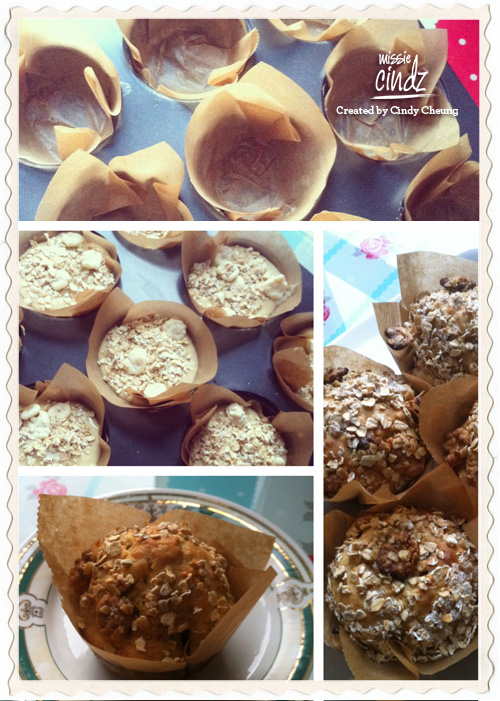 Deliciously low-fat banana and white chocolate chip muffins. Tastes as good as they look!