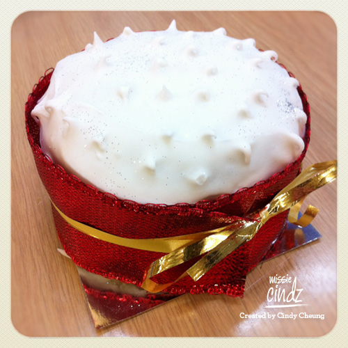 No British Christmas is complete without a classic Christmas Cake. Well done Dianna!