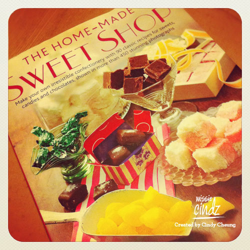 My book of the month: The Home-made Sweet Shop, packed full of sweet ideas!