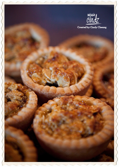 Beautiful festive mince pies homemade by Ryan Swift and Lauren Swain for this month's Missie's Pud Inn event