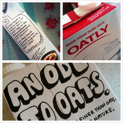 Oatly oat drinkcontains all the goodness of oats including healthy oat fibres.