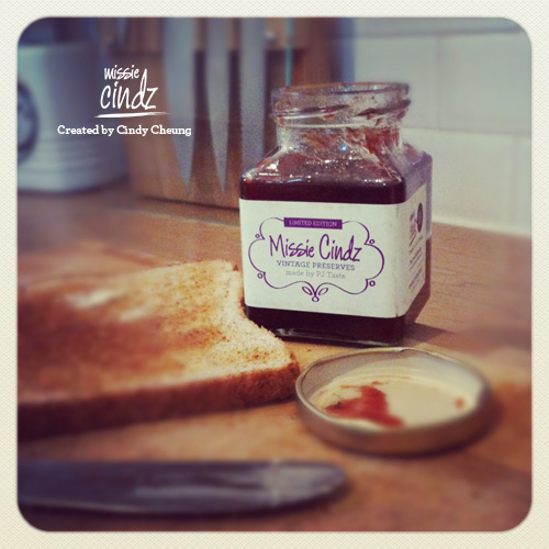 Missie Cindz Sheffield Plum Jam made by PJ taste