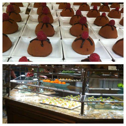 Missie Cindz visits The Buffet at Bellagio, Las Vegas.