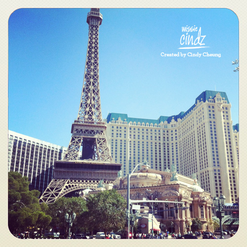 Good morning beautiful Paris, Las Vegas