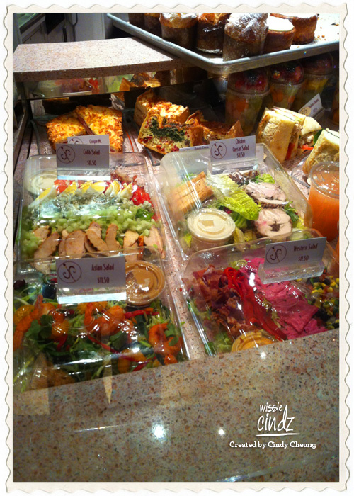 Las Vegas: Jean Philippe Patisserie salad boxes on the go.