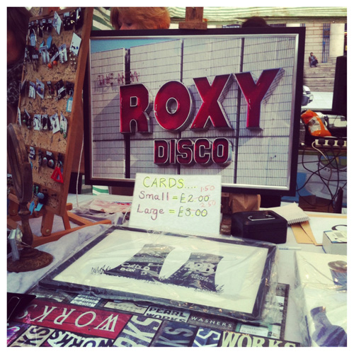 Hello Roxy. Amazing prints of Sheffield landmarks from a stall at the market.