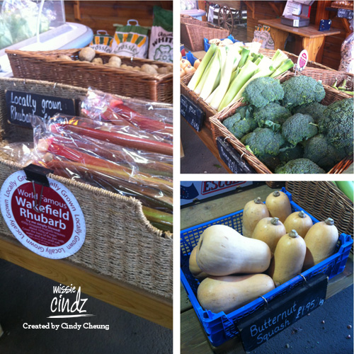 Colourful seasonal fresh produce, now who said veggies were boring!?