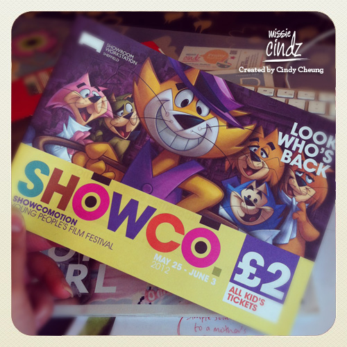 Showcomotion 2012 featuring the COOLEST cat around! Showing at the Showroom Cinema, Sheffield