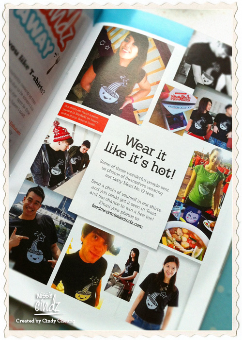 Missie Cindz Take Away feature in June's Toast Magazine
