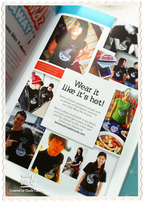 Missie Cindz Take Away feature in June's Toast Magazine