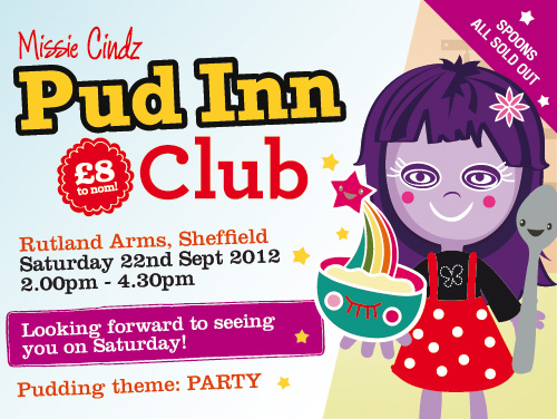 whoop whoop, our 5th Missie's Pud Inn fest will be this Saturday!
