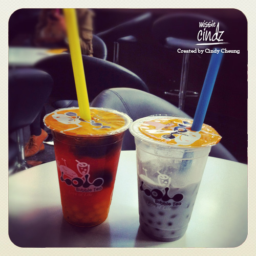 Life's simple pleasures: Bubble Tea