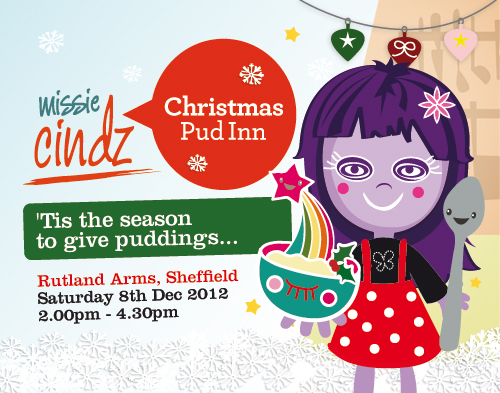 Missie's Christmas PudInn Club at the Rutland Arms, Sheffield