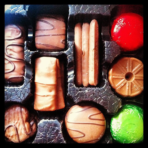 Life's like a box of assorted biscuits...