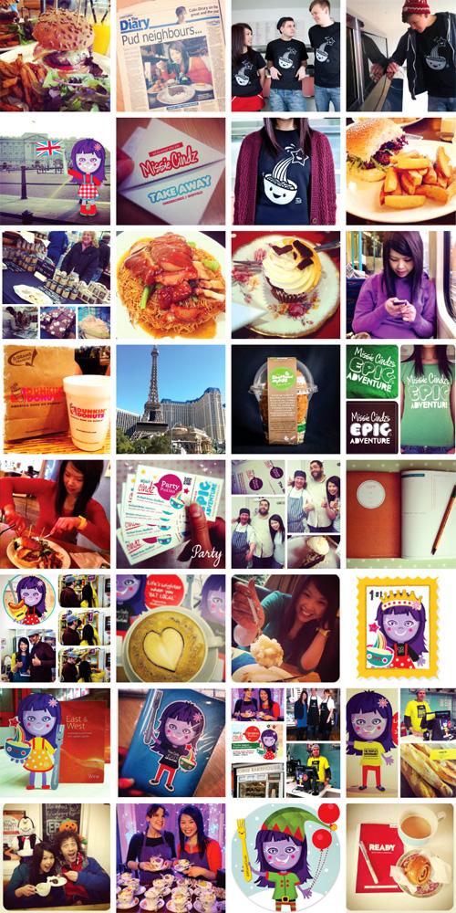 Missie Cindz, a Yummy Year Round Up 2012