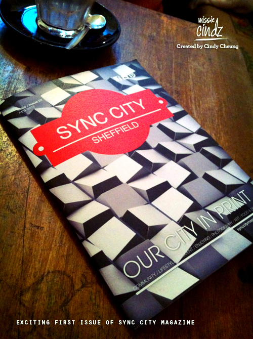 Exciting first issue of Sync City Sheffield magazine