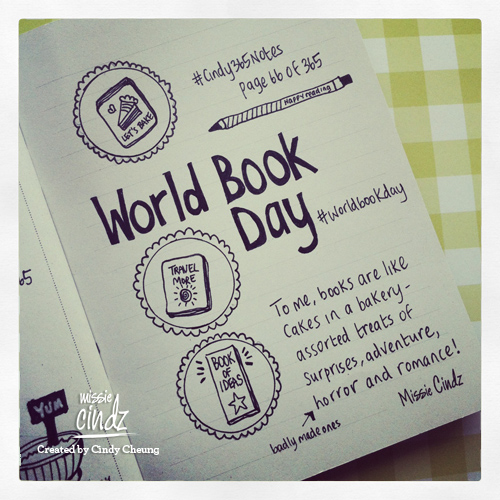 World Book Day 2013 – reading together to build positivity