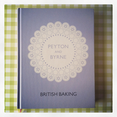 5. Peyton & Byrne's must-have cookbook to British Baking. Great cover too!