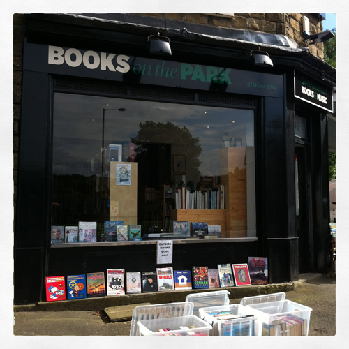 Books on the Park, Sheffield – Support your local bookshop
